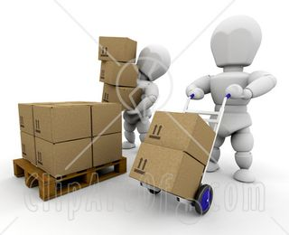 25604-Clipart-Illustration-Of-Two-White-Characters-Working-In-A-Shipment-Warehouse-One-Stacking-Boxes-On-A-Pallet-The-Other-Moving-Boxes-On-A-Dolly[1]